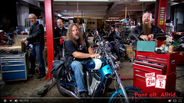 Holy Riders i pantereklame