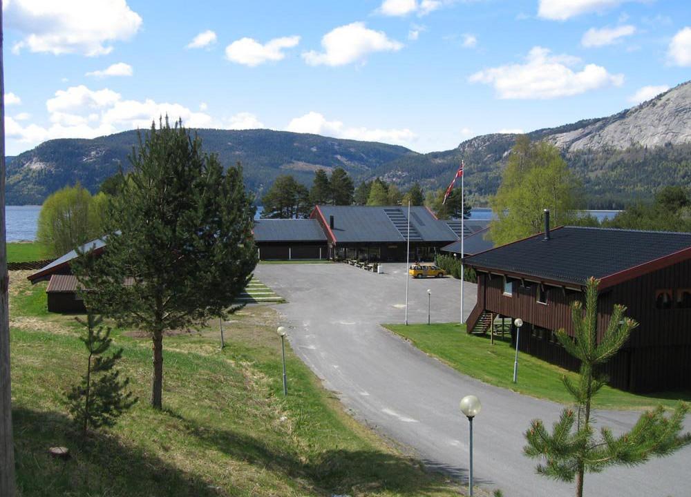 Fyresdal kurs og leirsted - Innkjøring og MC-parkering
