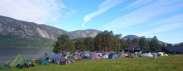 Pilegrimstreffet 2015 - teltplassen