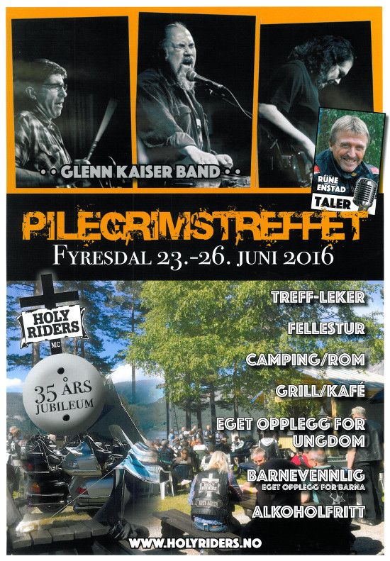 Pilegrimstreffet 2016 plakat