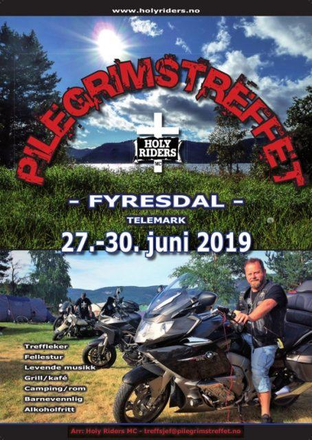 Pilegrimstreffet 2019 Fyresdal 27-30. Juni